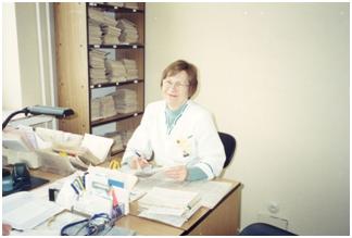 Slaugytoja diabetologė Audronė Umbražiūnienė